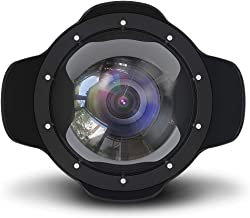 Sea frogs for Canon EOS 5DIII-IV24-105MM and Nikon D500 D750 D800 D810 (105MM) Wide Angle Dome Port