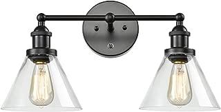 CLAXY Ecopower Lighting Mordern Glass & Metal 3-Lights Wall Sconce