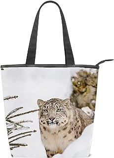 Women Canvas Shoulder Bag, Hug A Couple Lion Tote Handbag Mini Single Crossbody Messenger Bag Long Strap Shopping Bag Pouch