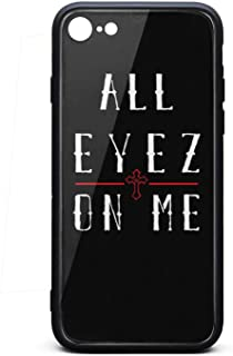 iPhone 6/iPhone 6s Case Tupac-Shakur-All-Eyez-on-Me-7- Shockproof Tempered Glass Back Cover Soft TPU Bumper Shell for iPhone 6/iPhone 6s