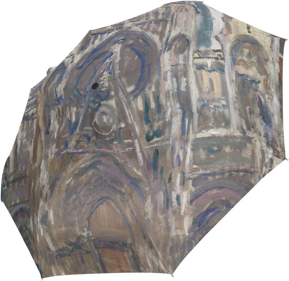 Auto Same day shipping Open Close Super Special SALE held Travel Umbrella Folding Um Belgian Monet Claude