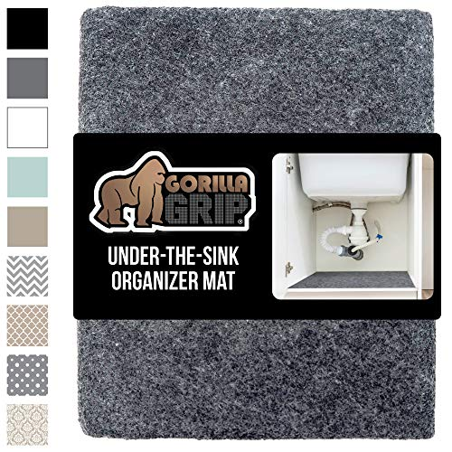 GORILLA GRIP Original Premium Under Sink Mat Liner, 24x30,...