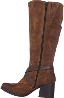 [Born] Womens dakota Leather Closed Toe Knee High Fashion Boots [並行輸入品]