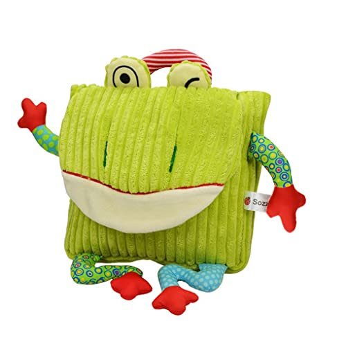 BAO CORE Kids Toddlers Vivid Exquisite Animal Cow Owl Frog Monkey Travel  Backpack c0b6127051b55