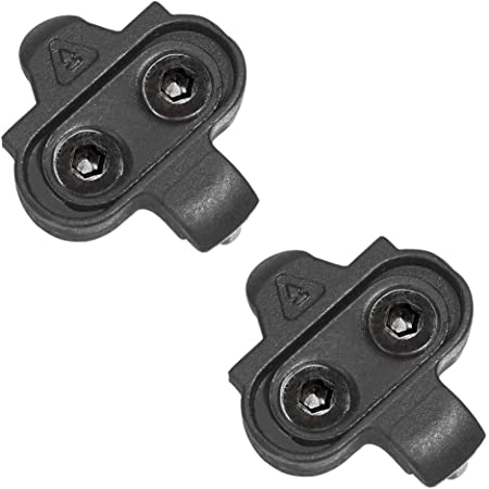 Jaswill Bike Cleats Compatible with Shimano SPD for Indoor Cycling and MTB Bike Bicycle Cleat Set for Men /& Women Spinning Clip-Less Cycle Shoe