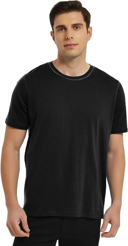METARINO Ranking TOP19 Merino Wool T-Shirts Mens Short Lightweight Crew Max 86% OFF Sleeve
