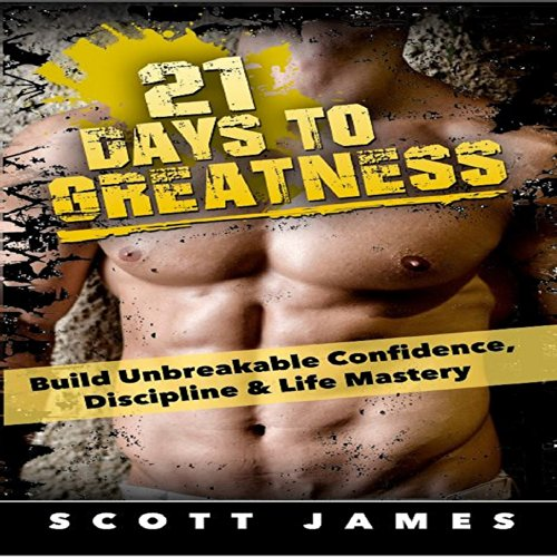 21 Days to Greatness audiobook cover art