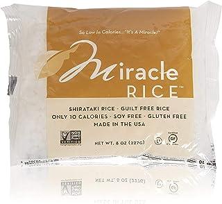 Miracle Noodle Miracle Rice - Gluten-Free Shirataki Rice, Keto, Vegan, Soy Free, 0 Calories, 0 Carbs, Kosher, Paleo, Dairy...