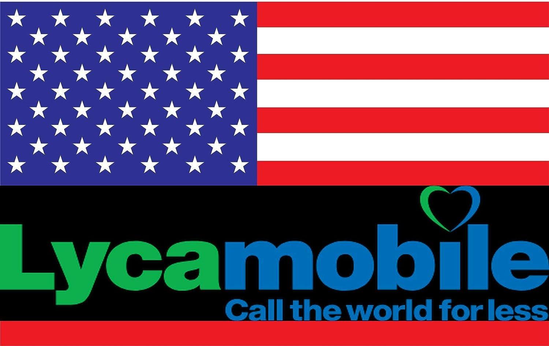 Prepaid Lycamobile Sim Karte Für Usa Puerto Rico Mit Elektronik