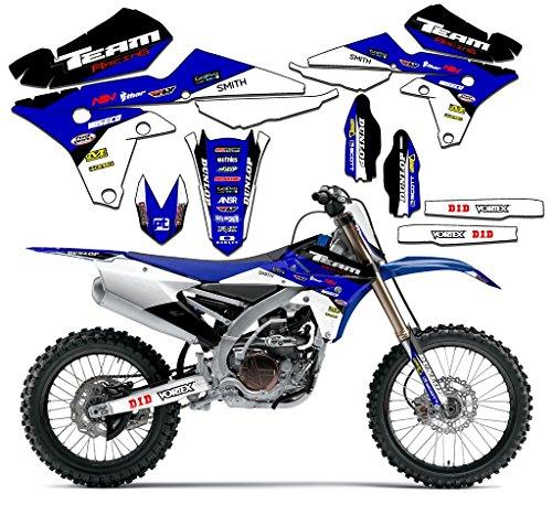 Team Racing Graphics kit Compatible with Yamaha 2000-2007 TTR 125, EVOLV