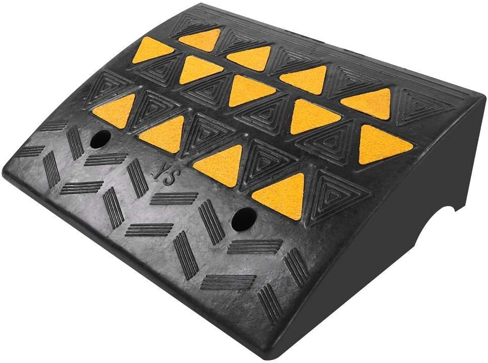 Wheelchair Max 74% OFF Ramp Max 62% OFF Curb Rubber 60000lb f Weight Capacity