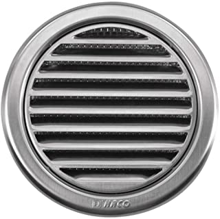 circular de acero inoxidable modelo de ventilación cubrir