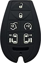 KAWIHEN Silicone Keyless Entry Remote Control Key Fob Cover Case protector For Chrysler Town Country Dodge Grand Caravan Volkswagen Routan M3N5WY783 X 2701A-C01C 68043594AA 68043594 AA