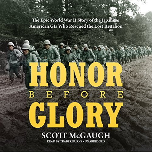 Honor Before Glory audiobook cover art