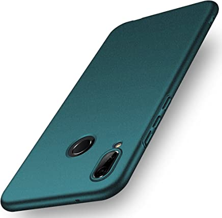 ORNARTO Funda Huawei P20 Lite, HW P20 Lite Carcasa [Ultra-Delgado] [Ligera] Mate Anti-arañazos y Antideslizante Protectora Sedoso Caso para Huawei P20 Lite(2018) 5.84' Arena Verde