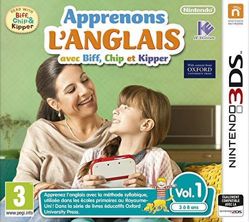 Apprenons l'anglais avec Biff, Chip et Kipper sur Nintendo 3DS