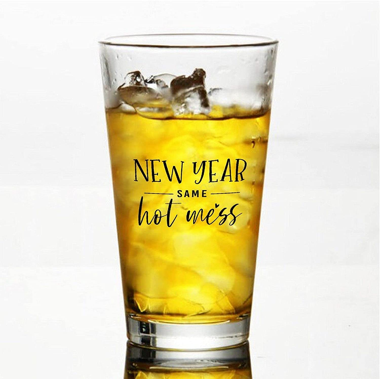 Classic Premium Beer New mail order Fees free Pint Glasses 16 Ounce Year Same New – Hot M