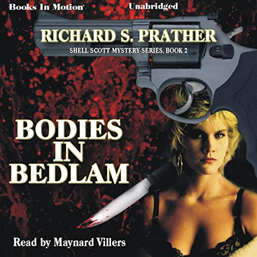 Bodies in Bedlam audiobook cover art
