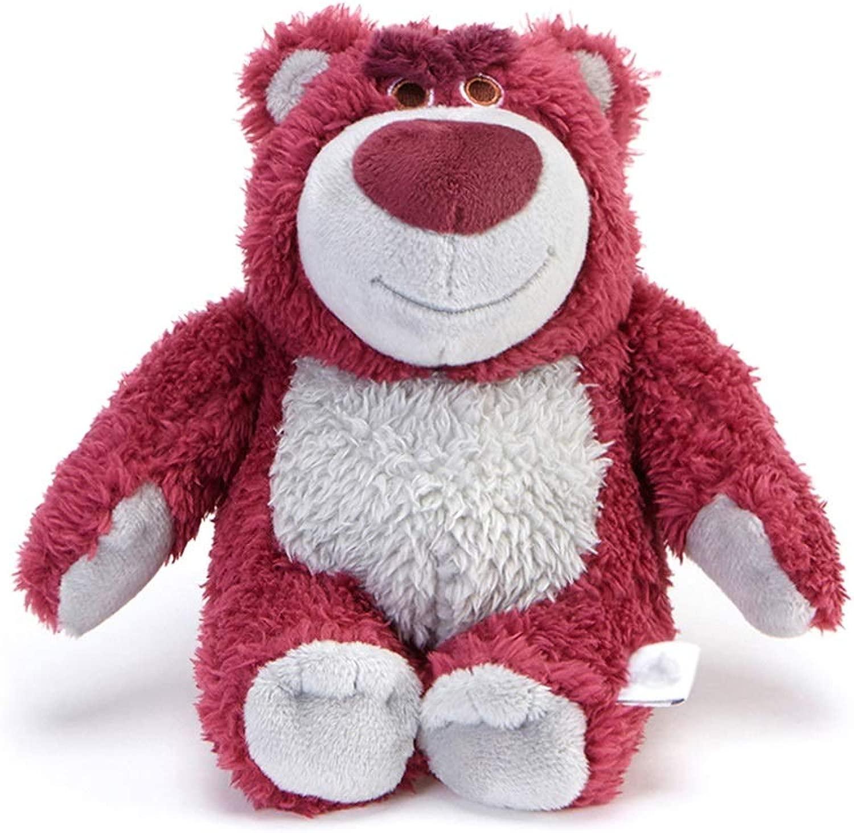 Giocattoli di pezza Peluche giocattolo Pet Animali Imbalsamati Supplies giocattolo storia Strawberry orso giocattolo Pillow San Valentino Regalo di Compleanno (Coloree   rosso, Dimensione   35cm)