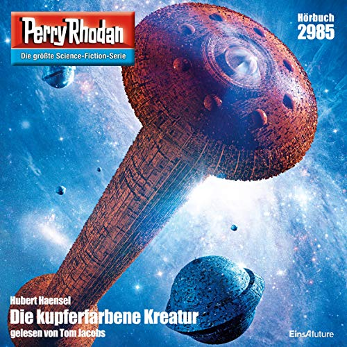 Die Kupferfarbene Kreatur audiobook cover art