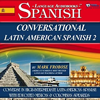 Conversational Latin-American Spanish 2 cover art
