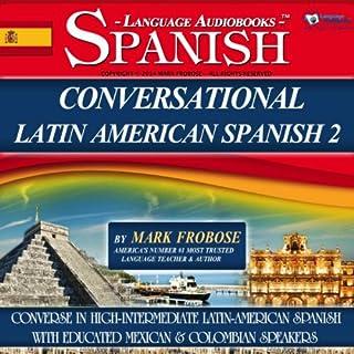 Conversational Latin-American Spanish 2 audiobook cover art