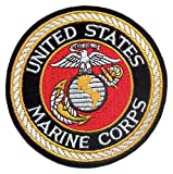 Rothco atDeluxe USMC Round Patch, 4''