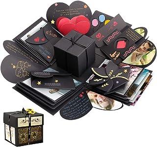 Sporgo Explosion Box, boîte-cadeau, boîte surprise créative album photo bricolage cadeau de scrapbooking fait à la main po...