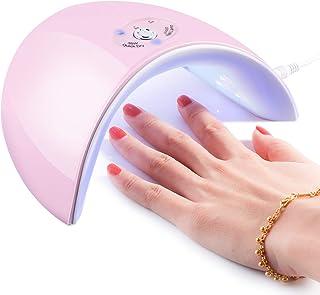 36W UV Light Nail Lamp, Portable 12 LED Nail Curing Lamp Nail Dryer, Nail Art Tools with 60s/120s Timer Setting for All Manicure Gel Nail Polish, Fingernail & Toenail Gel