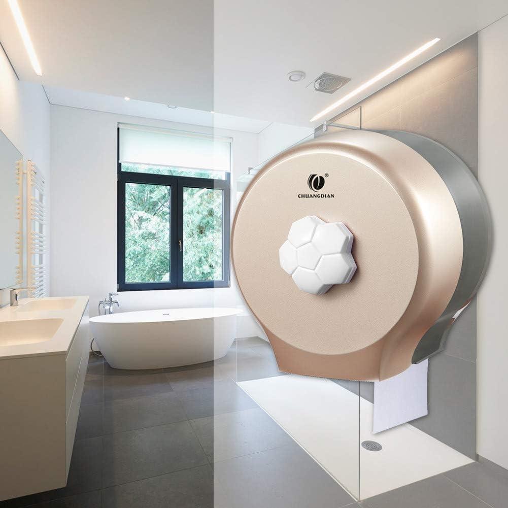 ZXY-NAN Tissue Box Bathroom Finally popular brand Round Super Special SALE held Roll Waterproof Pa