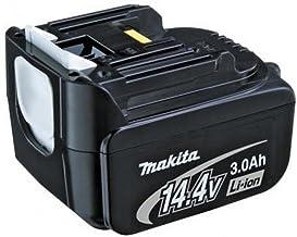 Makita BL 1430 iones de litio 3000mAh 14.4V batería recargable - Batería/Pila recargable (3000 mAh, Ión de litio, 14,4 V, Negro)