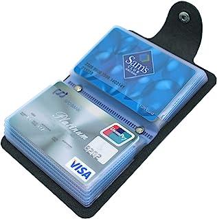 Mocasor Credit Card Holders for Men & Women Soft Leather Bank Card Case Slim Pocket Wallet ID Card Organiser Business Card...