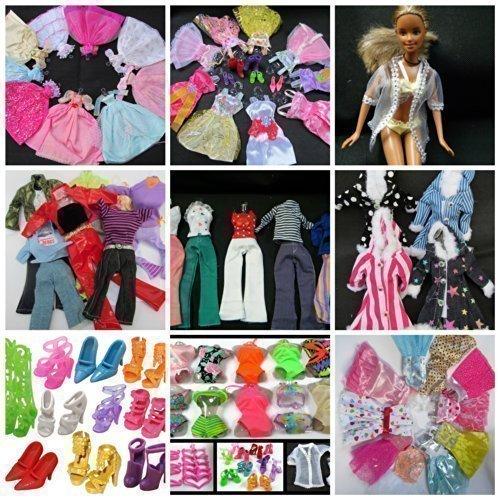 fat-catz-copy-catz Massive Komplett Packet Set mit 50+ Barbie Sindy größe Puppen