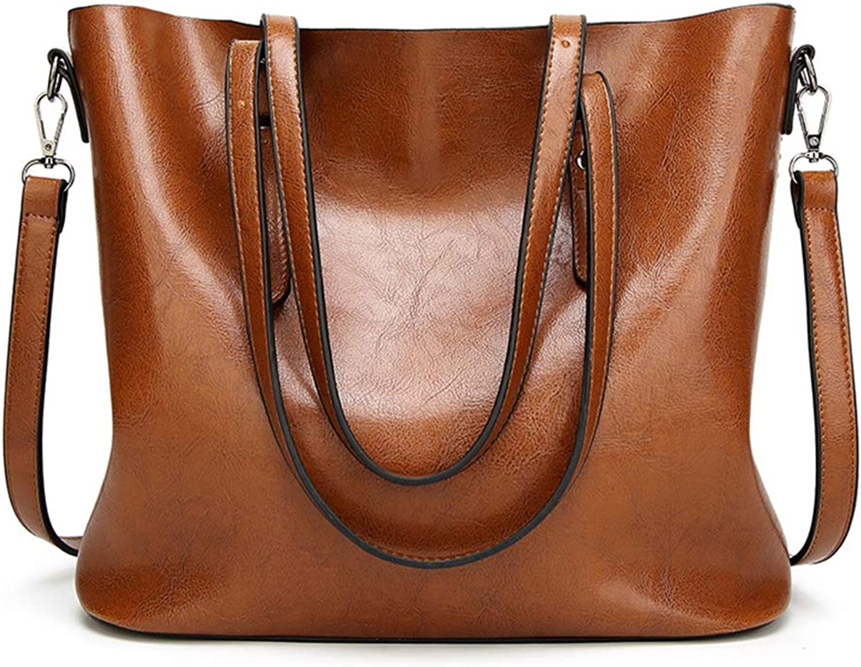 New Women's Bag Women's Shoulder Bag Brown Crossbody Casual Portable Simple Crossbody Bag