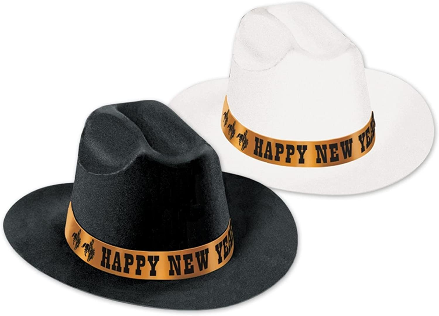 Club Pack of 25 Festive Happy New Years    Legacy Party Favor Hats 6aed22