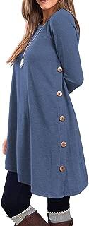 Best ladies long sleeve tunic tops Reviews