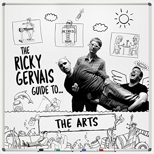 The Ricky Gervais Guide to... THE ARTS cover art