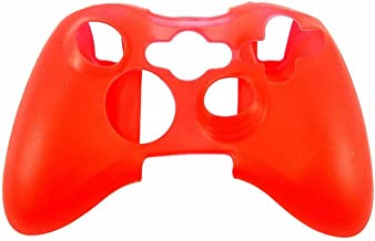 Hot Sale Silicone Rubber Protective Skin Case Cover for XBOX 360 Controller Game,Red