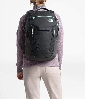 حقيبة الظهر النسائية بتصميم سيرج من The North Face رمادي فاتح منقط/أزرق رياح