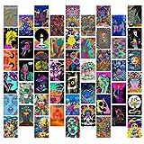 GROBRO7 50 Stück Hippie Trippy Drippy ästhetische