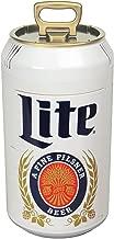 Miller Lite ML06 059586648014 Can Cooler, Silver