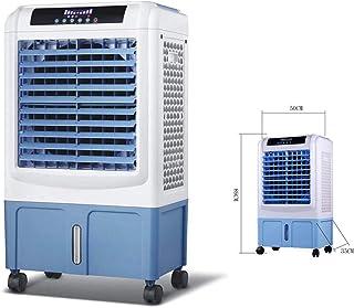 DXFK.AM Móvil Enfriador Evaporativo Portátil Industrial Ventilador De Aire Acondicionado 5000 Gran Volumen De Aire Comercial Eléctrico Ventilador