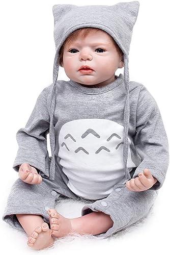 AFYH Realistische mädchen-Baby-Puppe Reborn Baby - importiertes medizinisches Silikon - bissfest - sicher und ungefürlich.