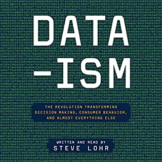 Data-ism audiobook cover art