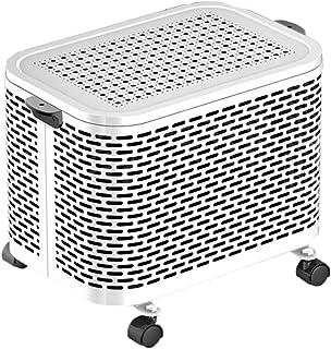 ELEXERT Calefactor Portatil Electrico,Calefactor 2000W,Función Silence Mando Distancia Termostato Función Eco Ligero y Compacto para Espacio Pequeño Dormitorio Oficina Hogar,White