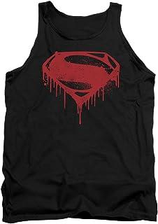 8d764f52b981d Trevco Batman v Superman Splattered Black Unisex Adult Shirt (Available in  Different Bodystyles)