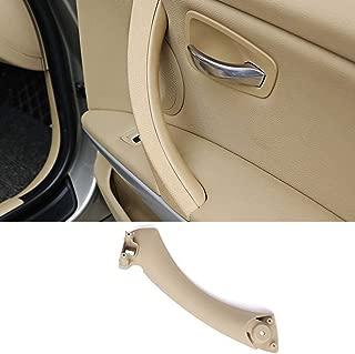 Door Handle Pull Strap For BMW 3 Series E90 E91, TTCR-II Beige Right Front/Rear Interior Door Panel Handle Passenger Side Door Handle Inner Bracket (Fits: 323 325 328 330 335 Sedan&Touring)
