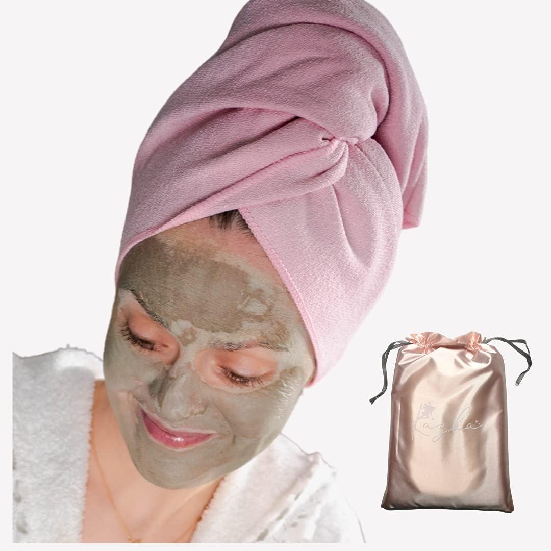 KAZKA Microfiber Hair Towel Absorbent Super Ultra-Soft Fast Recommended Atlanta Mall
