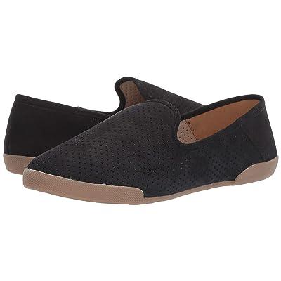 Tahari T Tahari Bellona Perforated Slip-On Sneaker (Black Nubuck) Women