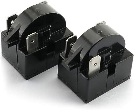 Large Appliance Accessories 2PCS QP-02-4.7 3Pin 4.7Ohm PTC Starter ...